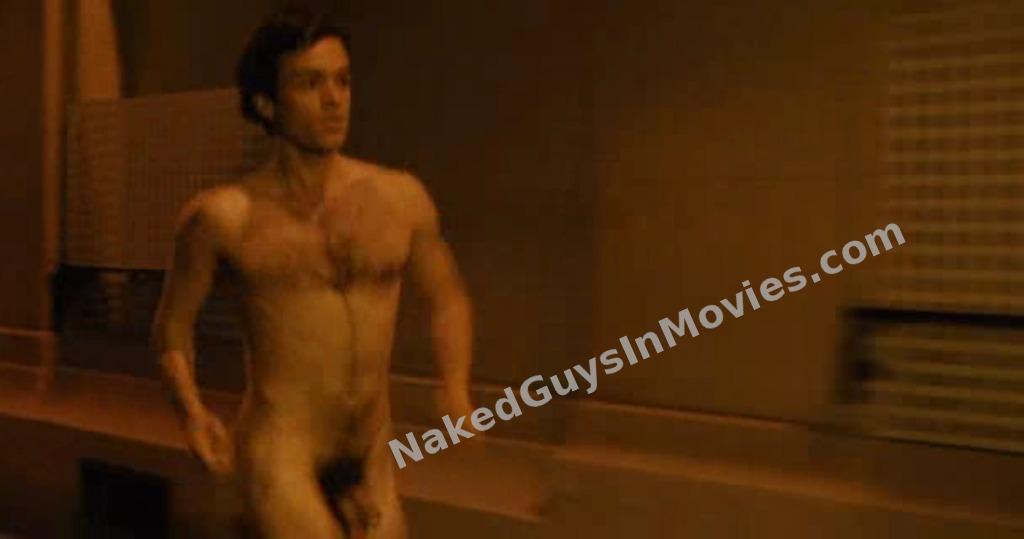 Butt naked woman